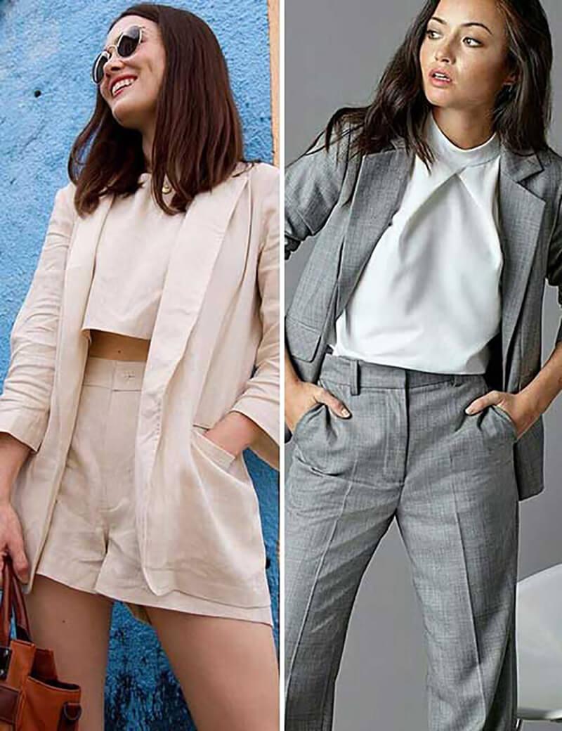 Quần áo cho phụ nữ ngắn