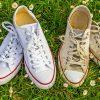 6 Cách làm sạch đôi giày converse trắng