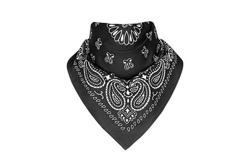 Buộc khăn bandana cổ hình tam giác lớn