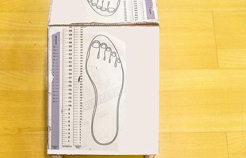 Cách đo cỡ giày cho bạn