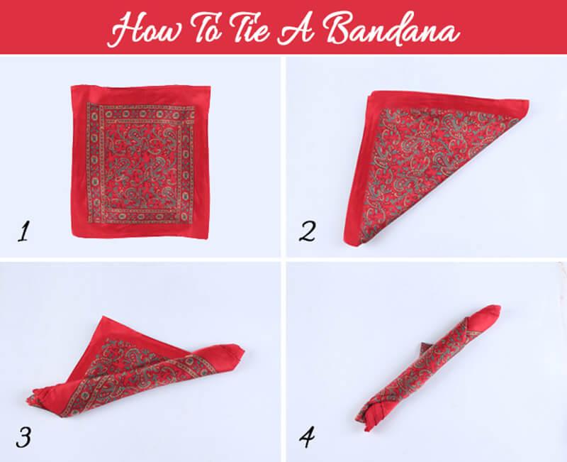 Làm cách nào để thắt một chiếc khăn Bandana đẹp?