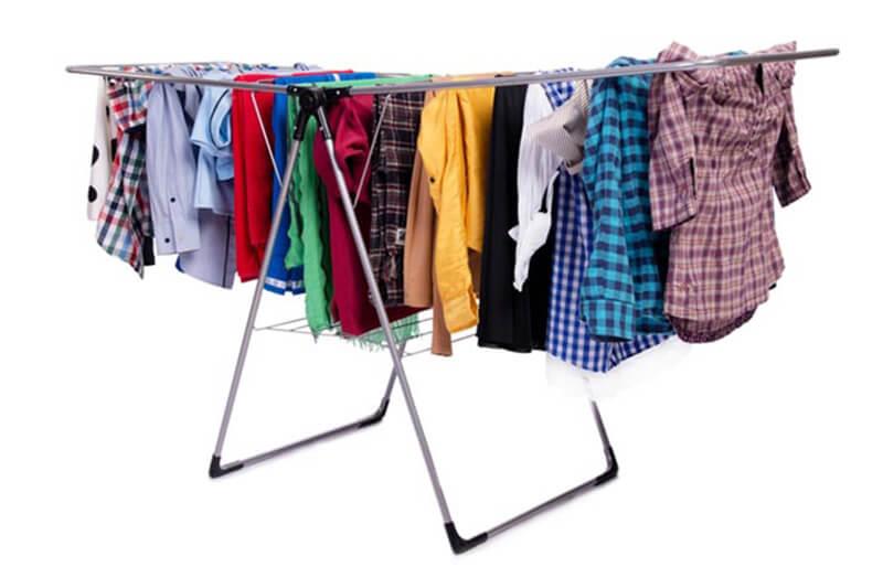 Làm thế nào để quần áo hết dão mà không cần máy sấy