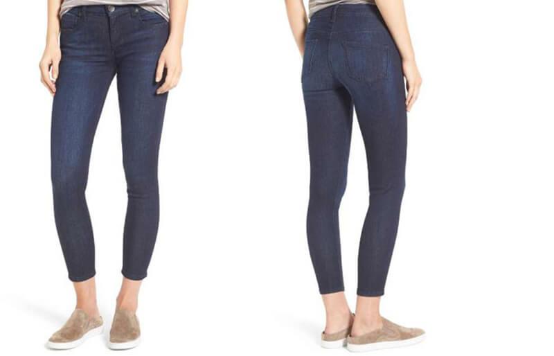 Quần skinny jean lửng
