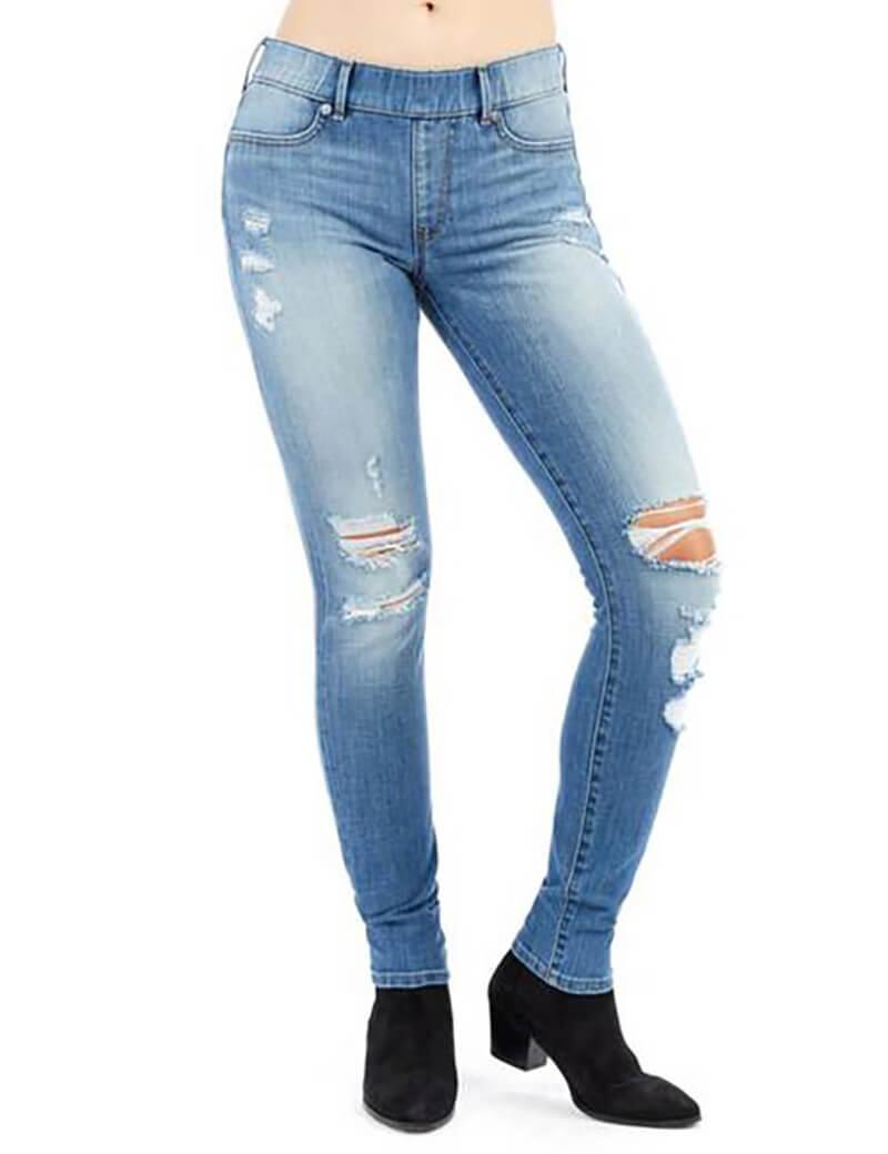 Quần skinny jean rách