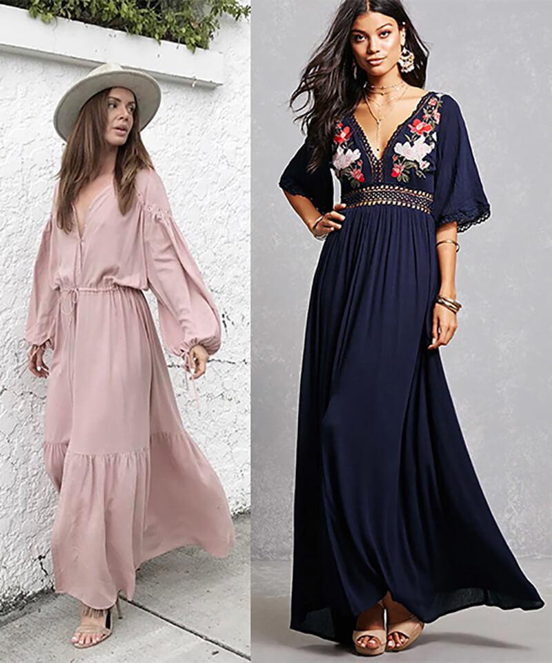 Váy maxi dài