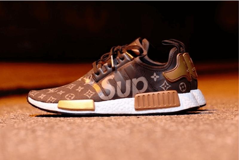 Sneaker Supreme và Louis Vuitton