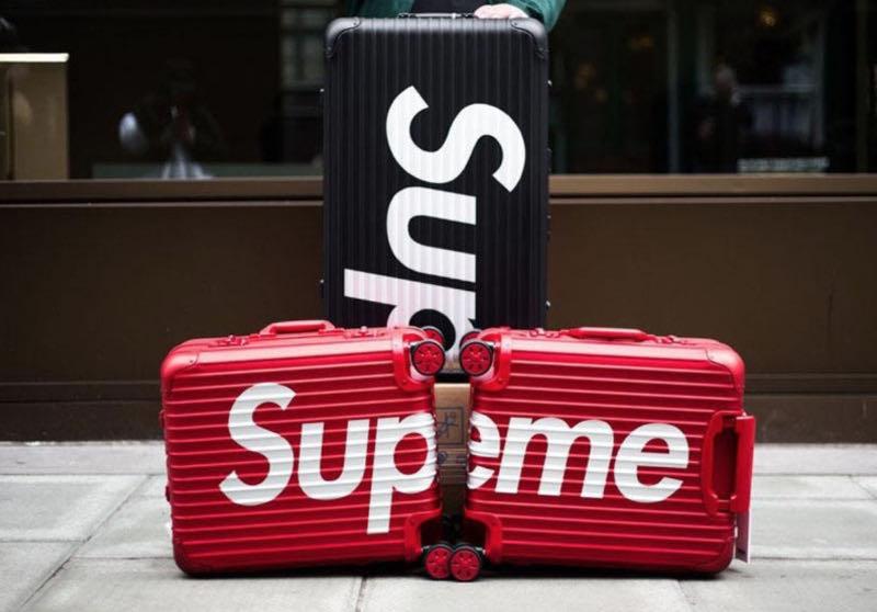 Vali thương hiệu Supreme