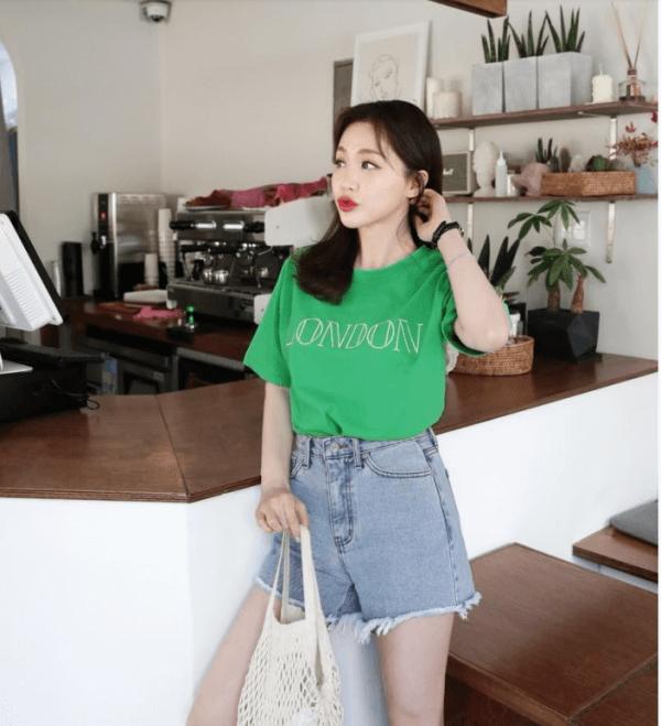 Áo thun + quần short