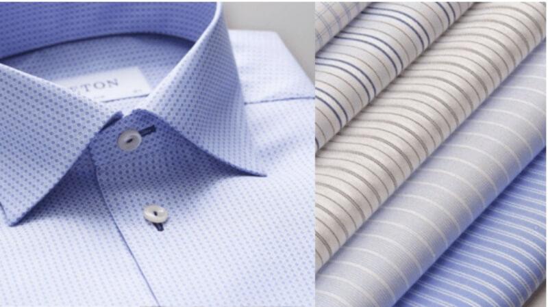Các loại vải may áo sơ mi nam được ưa chuộng nhất