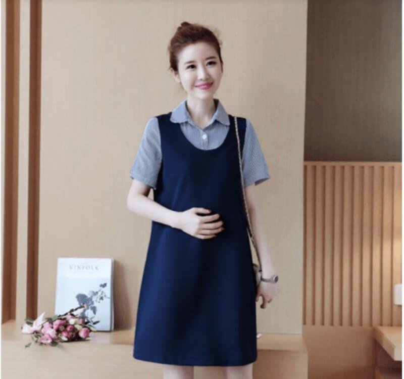 Cách mặc đồng phục nơi công sở để giúp bà bầu thêm phần tự tin