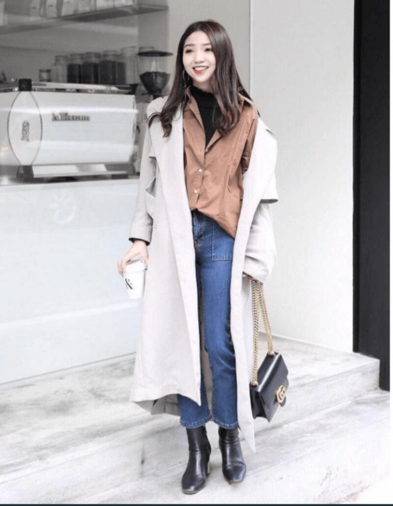 Đánh tan mùa đông với cách phối đồ cực đẹp cùng áo khoác dạ dài