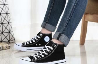 Cách chọn size giày Converse cho nữ đơn giản mà chính xác