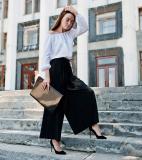 15 Cách mix quần Palazzo đúng cách cho cô nàng sành điệu